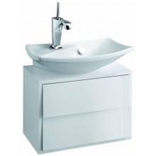 KOHLER ESCALE skrinka 500x295x350mm pod umývadlo, 2 zásuvky, gloss titanium EB763-N21