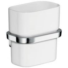 AXOR URQUIOLA pohár na ústnu hygienu 100mm, chróm/sklo