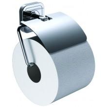 CONCEPT 100 držiak toaletného papiera 132x108x63mm s krytom, chróm 002-1161