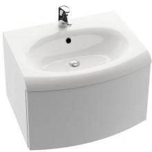 RAVAK EVOLUTION SDS skrinka pod umývadlo 700x470x550mm so zásuvkou a systémom push / pull, biela / biela X000000365
