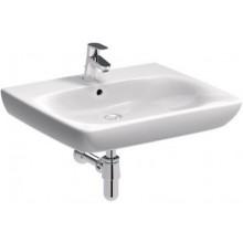 KOLO PRE BEZ BARIÉR umývadlo 65x55cm pre telesne postihnutých, s otvorom pre batériu, s prepadom, biela