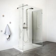ROLTECHNIK WALK B sprchová zástena 1000x900x1900mm, bezrámová, brillant/transparent