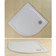 SANSWISS MARBLEMATE WMR vanička 1000x1000x30mm štvrťkruh, biela