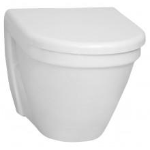 CONCEPT S50 závesné WC 355x520mm vodorovný odpad, plytké splachovanie biela 5319L003-0075
