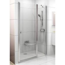 RAVAK CHROME CSD2 110 sprchové dvere 1075x1105x1950mm dvojdielne satin / transparent 0QVDCU00Z1