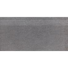 RAKO UNISTONE schodovka 30x60cm, šedá