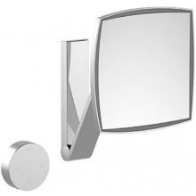 KEUCO ILOOKMOVE zrkadlo 200x200mm, kozmetické, s LED osvetlením, chróm