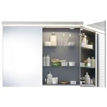 DURAVIT DARLING NEW zrkadlová skrinka 800x800mm biela matná/biela matná DN753601818
