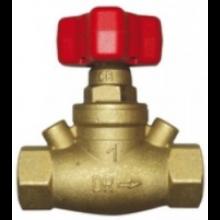 HERZ STRÖMAX-GR regulačný ventil DN32 priamy, vyvažovací, bez meracích ventilčekov