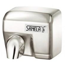SANELA SLO02E sušič rúk 284x202x248mm, bezdotykový, elektrický, nerez mat