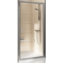 RAVAK BLIX BLDP2 100 sprchové dvere 970-1010x1900mm dvojdielne, posuvné biela/transparent