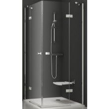 RAVAK SMARTLINE SMSRV4 80 sprchovací kút 785-797x785-797x1900mm rohový, štvordielny chróm / transparent 1SV44A00Z1