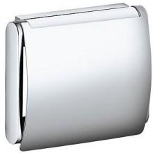 KEUCO PLAN držiak toaletného papiera s krytom 133x110mm, chróm