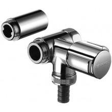 SCHELL COMFORT pripojovací ventil DN15, vedľajší, chróm