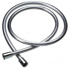 CONCEPT 200 sprchová hadica s otočnými koncovkami 150cm hladká satin SH01-150