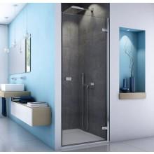SANSWISS ESCURA ES1C sprchové dvere 900x2000mm, ľavé, jednodielne, aluchróm/číre sklo