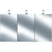 Nábytok skrinka Keuco Royal 30 zrkadlová -  str. elox/biela matná