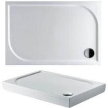 RIHO KOLPING DB34 sprchová vanička 120x90cm obdĺžnik, vrátane sifónu a podpier, liaty mramor, biela