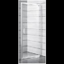 JIKA LYRA PLUS sprchové dvere pravoľavé jednokrídlové 900x1900mm, transparentná 2.5438.2.000.668.1