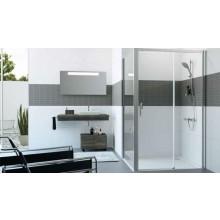 HÜPPE CLASSICS 2 EASYENTRY GT1200 posuvné dvere 1200x2000mm 1-dielne s pevným segmentom, strieborná pololesklá/sklo číre AntiPlaque