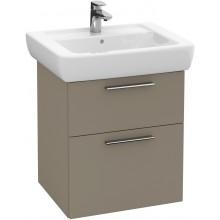 VILLEROY & BOCH VERITY DESIGN skrinka pod umývadlo 500x425x575mm, biela lesk B01900DH