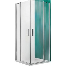 ROLTECHNIK TOWER LINE TDO1/1000 sprchové dvere 1000x2000mm jednokrídlové, bezrámové, striebro/transparent