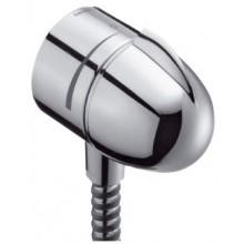 HANSGROHE prípojka hadice Fixfit Stop s uzatváracím ventilom a spätným ventilom chróm