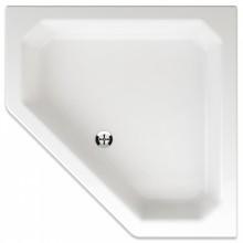 TEIKO PEGAS sprchová vanička 90x90x14cm, päťuholník, akrylát, biela
