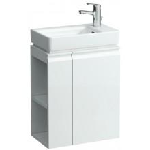LAUFEN PRO skrinka pod umývatko 470x275x580mm závesy vpravo, poličky vľavo, biela 4.8300.2.095.463.1