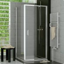 SANSWISS TOP LINE TOPF bočná stena 900x1900mm, aluchrom/Cristal perly Aquaperle