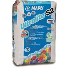 MAPEI ULTRALITE S2 lepidlo 15kg cementové, jednozložkové, šedá