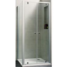 CONCEPT 100 NEW sprchové dvere 900x1900mm lietacie, biela / číre sklo AP, PTA20905.055.322
