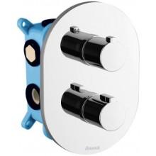 RAVAK CHROME CR 067.00 podomietková batéria 150x136x210mm, termostatická, trojcestná pre R-box Multi