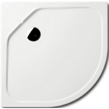 KALDEWEI FONTANA 586-2 sprchová vanička 900x900x65mm, oceľová, štvrťkruhová, R520mm, biela