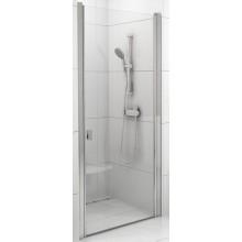 RAVAK CHROME CSD1 80 sprchové dvere 775x805x1950mm jednodielne satin / transparent 0QV40U00Z1