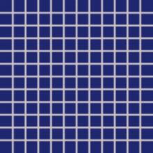 RAKO COLOR TWO mozaika 30x30cm, lepená na sieťke, tmavo modrá