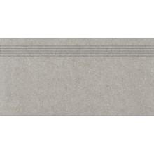 RAKO ROCK schodovka 30x60cm, svetlá šedá