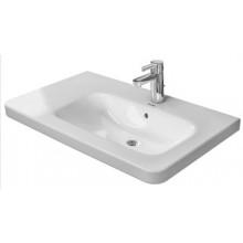 DURAVIT DURASTYLE umývadlo do nábytku 800x480mm asymetrické, s prepadom, biela