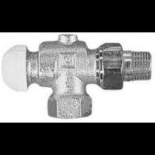 """HERZ TS-90 termostatický ventil 3/8"""" rohový, závitový"""