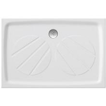 RAVAK GIGANT PRO sprchová vanička 1000x800mm z liateho mramoru, extra plochá, obdĺžniková, biela XA03A401010