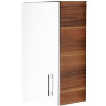 CONCEPT 50 horná skrinka 35x29,9x61,5cm ľavá, biela / biela C50.HLB