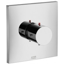 AXOR STARCK X Highflow termostatická batéria pod omietku chróm