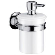 AXOR MONTREUX dávkovač tekutého mydla 300ml, chróm/porcelán