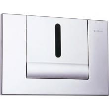 SANELA SLW02GT splachovač WC 24V DC, automatický, s elektronikou ALS, pre montážny rám Geberit, tlačidlo TANGO