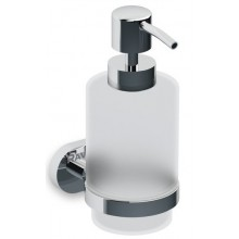 RAVAK CHROME CR 231.00 dávkovač na mydlo 65x126x158mm chróm / sklo X07P223