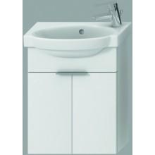 JIKA TIGO skrinka s umývadlom 415x165x535mm s 2 dvierkami, biela 4.5510.2.021.500.1