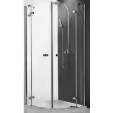 ROLTECHNIK ELEGANT LINE GR2/900 sprchový kút 900x2000mm štvrťkruhový, s dvojkrídlovými otváracími dverami, bezrámový, brillant/transparent