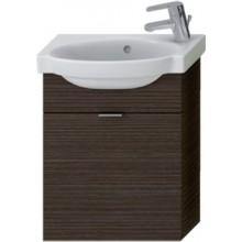 JIKA TIGO skrinka s umývatkom 415x165x535mm s výklopnými dvierkami, mokka 4.5510.7.021.429.1