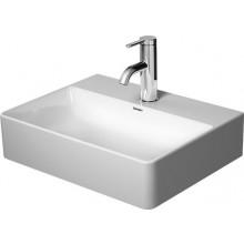 DURAVIT DURASQUARE umývadielko 450x350x140mm nábytkové, s otvorom, biela alpin