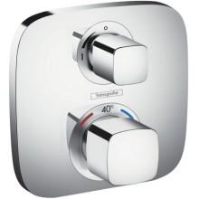 HANSGROHE ECOSTAT E sprchová batéria, termostatická, pod omietku, s uzatváracím ventilom, chróm